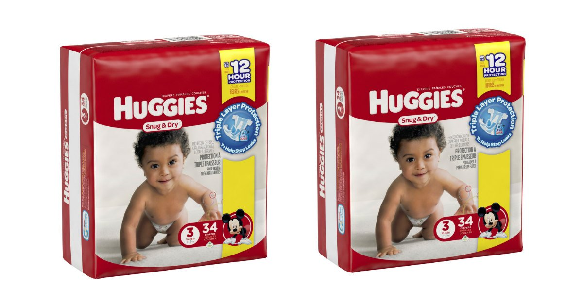 Huggies diapers deal at CVS