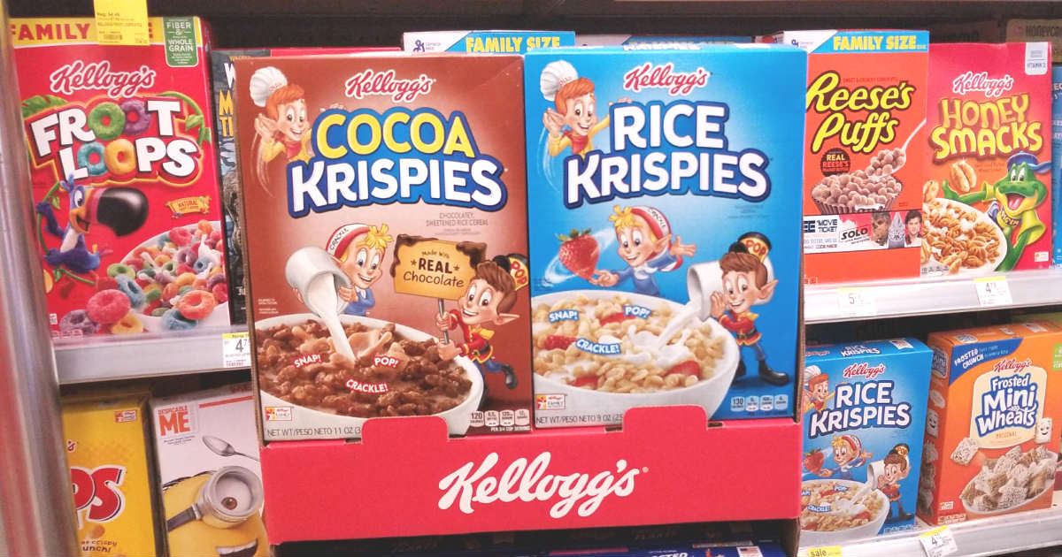Kelloggs Rice Krispies Cereal at Walgreens