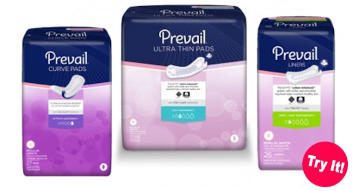 FREE Prevail Briefs, Pads or L...