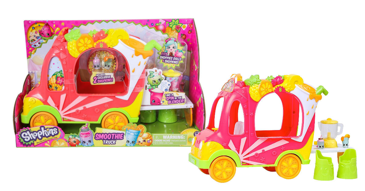 Shopkins Shoppies Juice Truck deal at Amazon