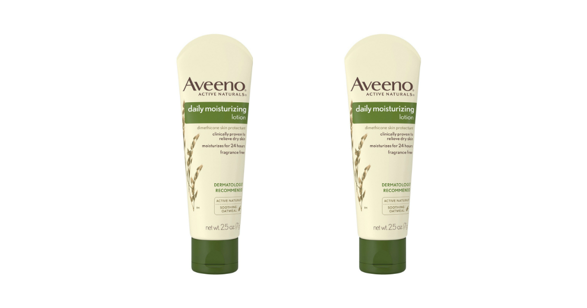 Aveeno Daily Moisturizing Lotion deal at CVS