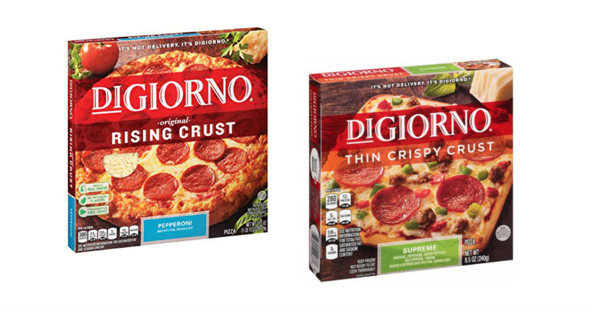 It's just a picture of Sassy Digiorno Pizza Coupon Printable