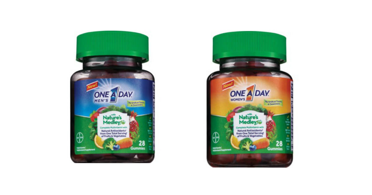 One A Day Nature's Medley deal at CVS