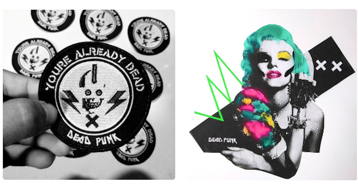 FREE Dead Punk Sticker Pack...