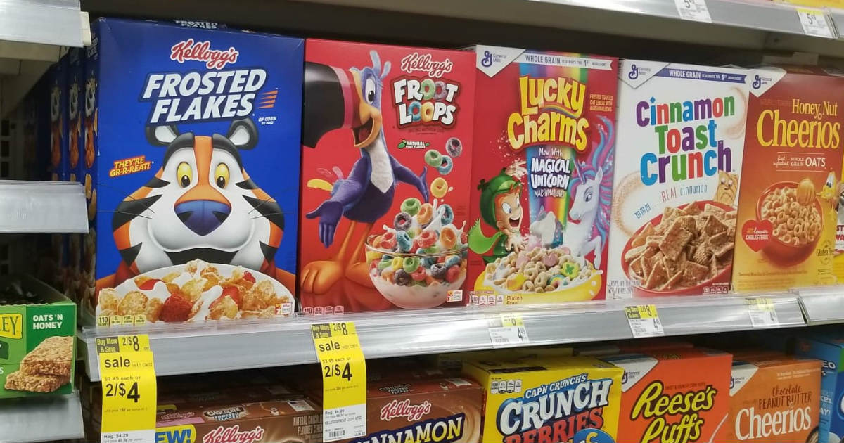 Kelloggs at Walgreens