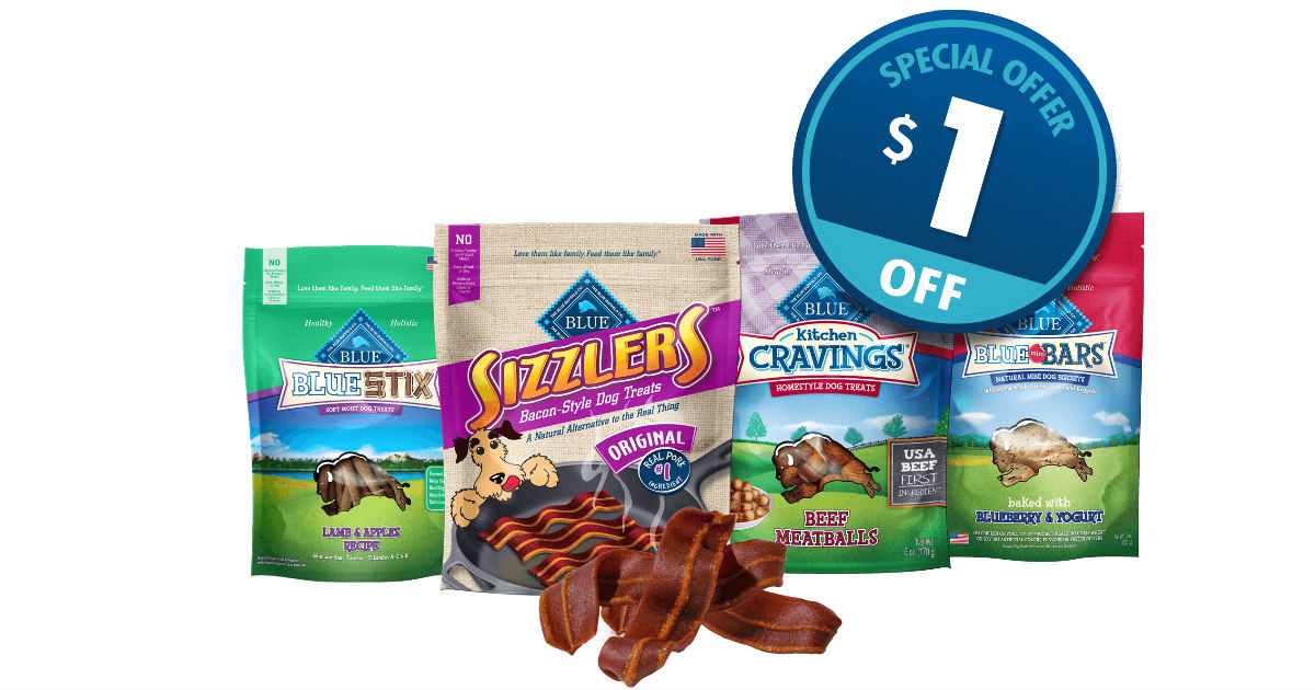 Blue Buffalo Dog Treats Coupon
