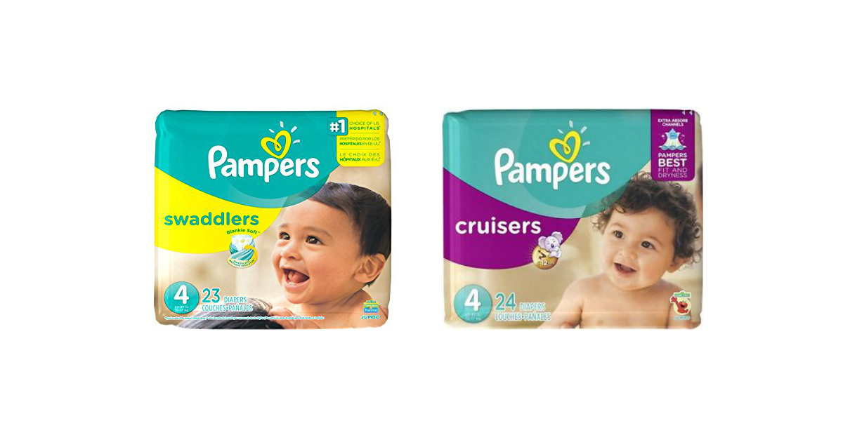 Pampers at Walgreens