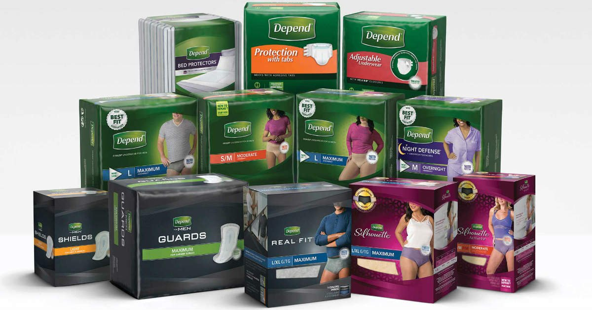 FREE Depend Sample Kits for Me...