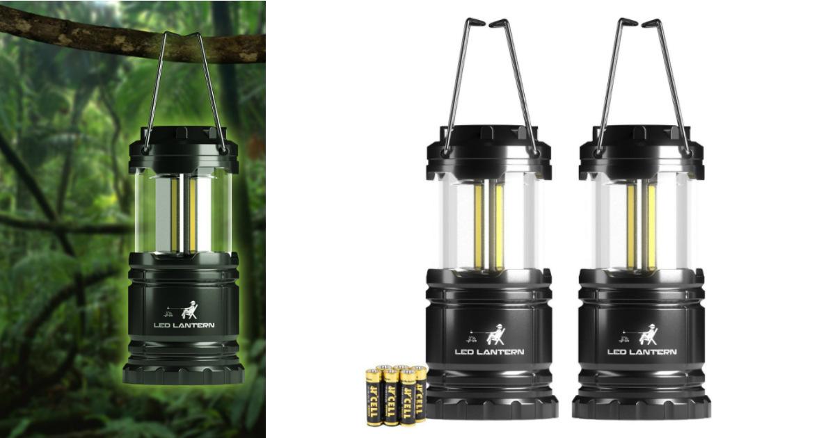 LED Camping Flashlight 350 Lum...