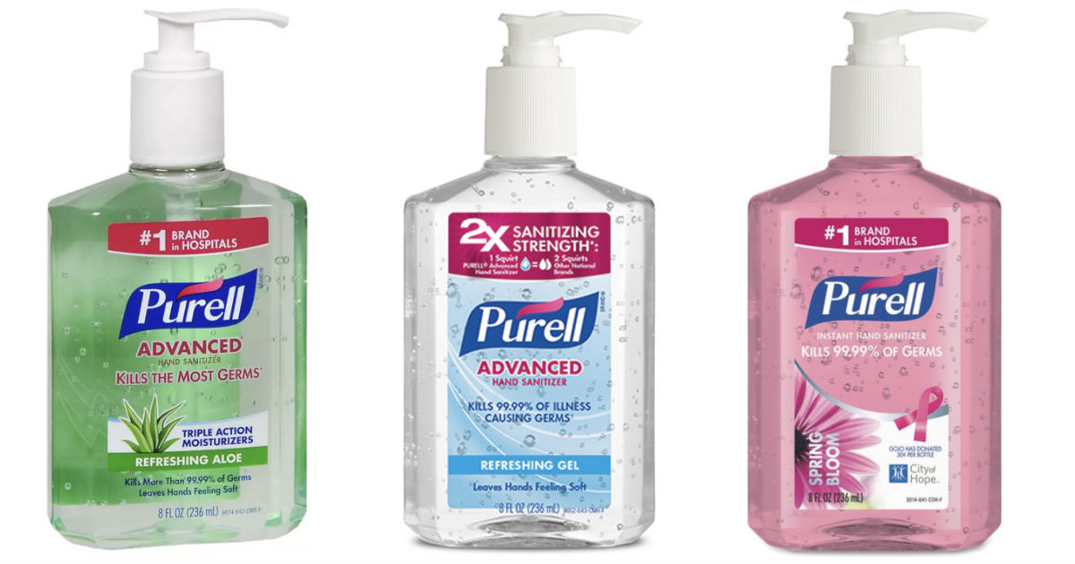 image regarding Purell Printable Coupons known as $1.69 Purell Hand Sanitizer at Walgreens - Print By now
