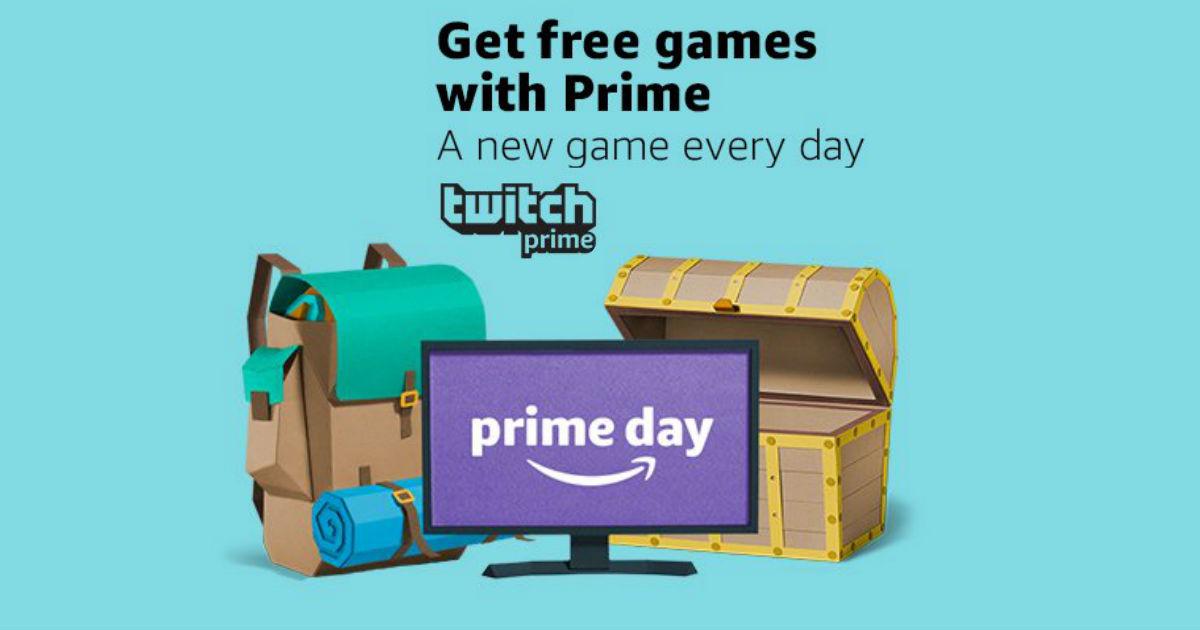 Twitch Amazon Prime Day