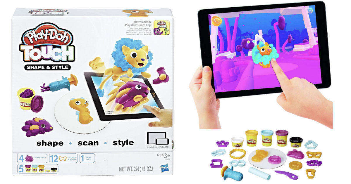 Play-Doh Touch Shape and Style Set at Amazon