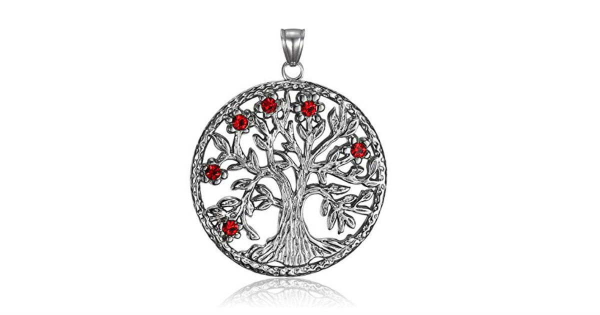 Tree of Life Necklace on Amazon