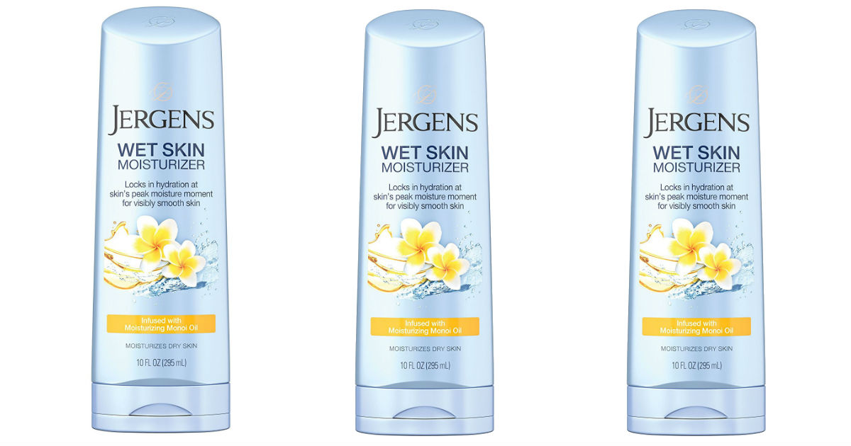 Jergens Wet Skin Body Moisturizer ONLY $1 (reg $6.99) at Amazon