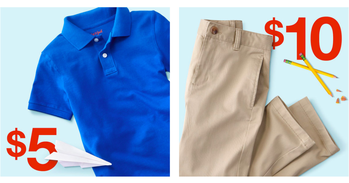 Uniform deal at Target