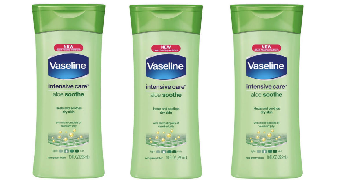 Vaseline Aloe Lotion ONLY $0.82 After Target Gift Card
