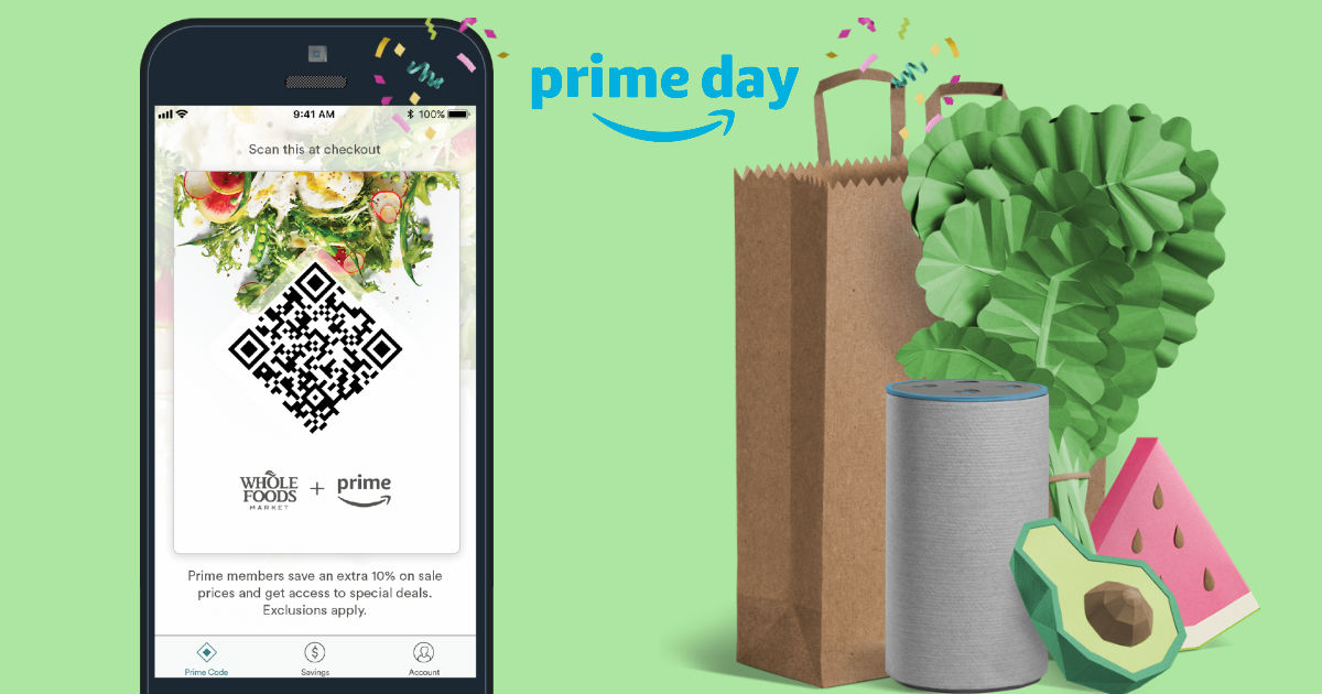 Amazon Prime Day Whole Foods