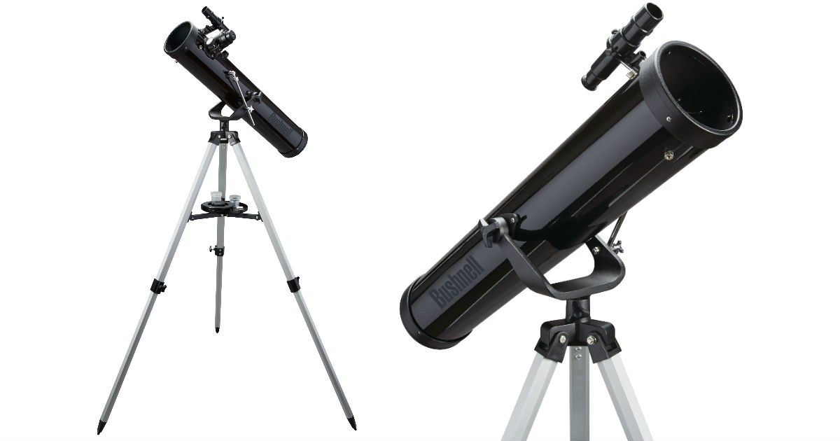 Bushnell Telescope with Tripod Only $19 99 (reg $52) at
