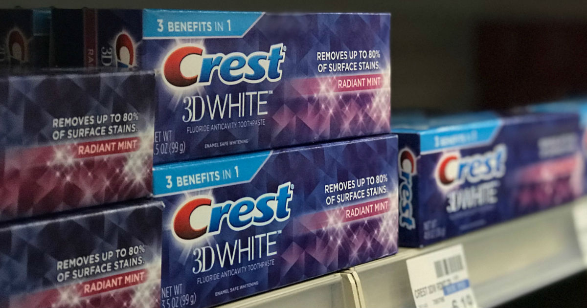 graphic about Crest Printable Coupons identified as No cost Crest Toothpaste at CVS with Discount coupons (Setting up 7/15