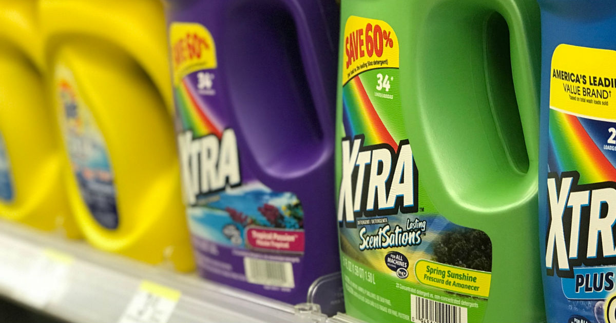 Xtra Laundry Detergent ONLY $0.88 at Walgreens