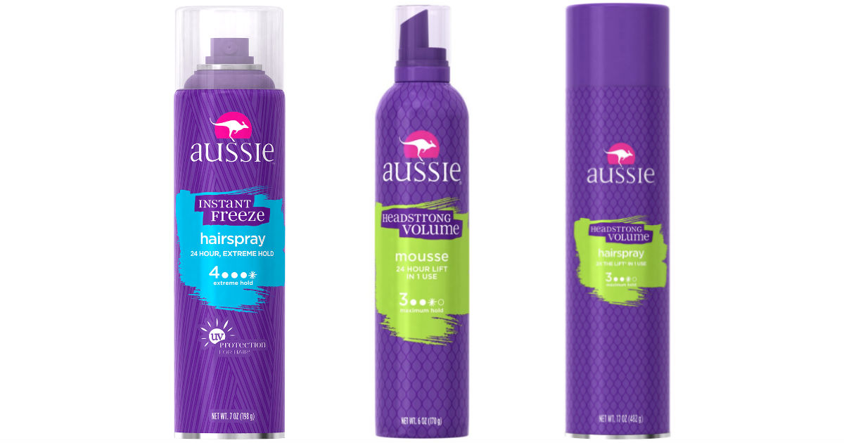Aussie Hair Care Products at Target