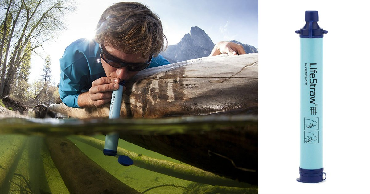 LifeStraw Personal Water Filter $9.89 (Reg $18) for Prime Day