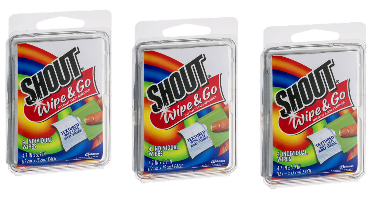 Shout Wipe & Go Wipes at Target