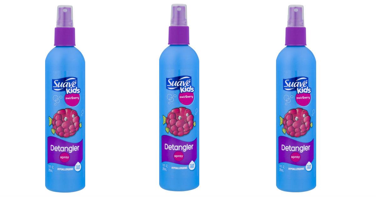 Suave Kids Detangler Spray ONLY $0.99 at Target
