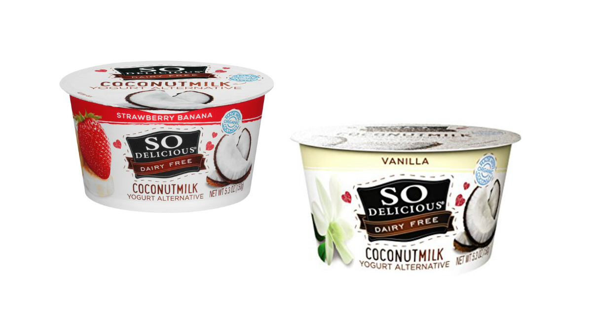 image about Yogurt Coupons Printable called Consequently Scrumptious Coconut Milk Yogurt Answer $0.58 at
