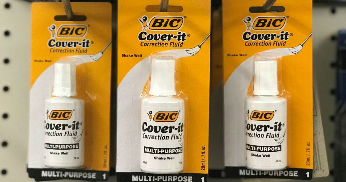 BIC Cover-it at Dollar Tree