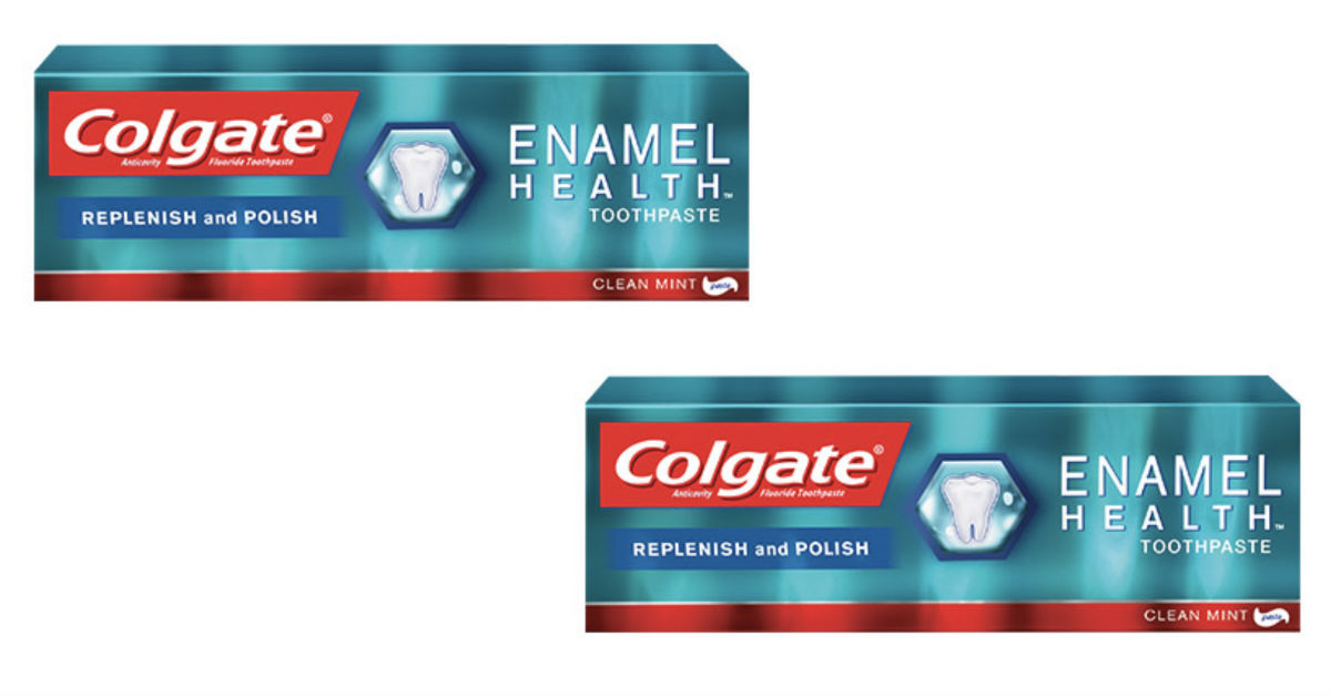 Colgate Enamel Health Toothpaste ONLY $0.24 at CVS