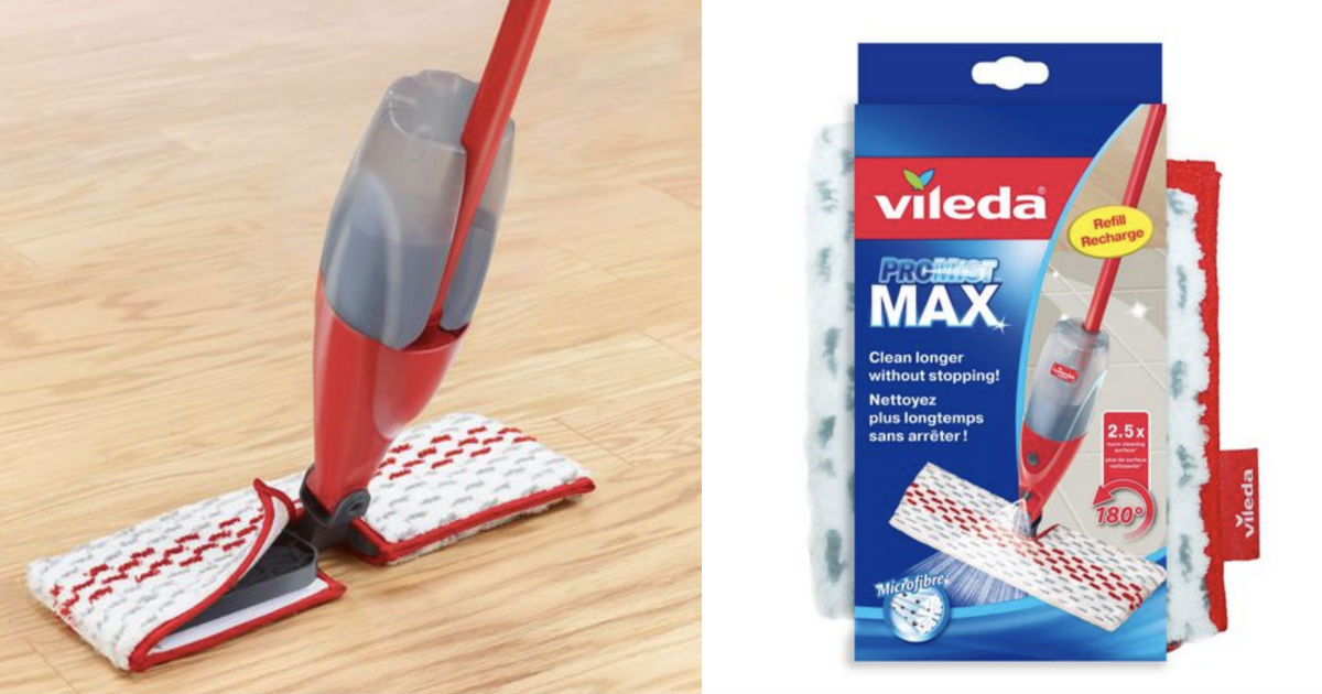 Vileda ProMist MAX Refill at Walmart ONLY $11.97