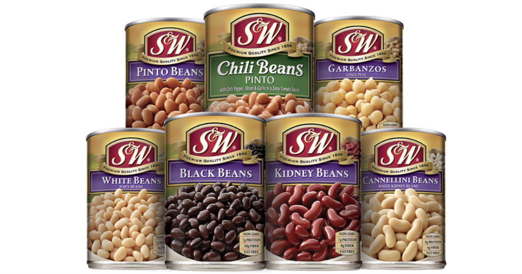 S&W Beans ONLY $0.42 each at Walmart