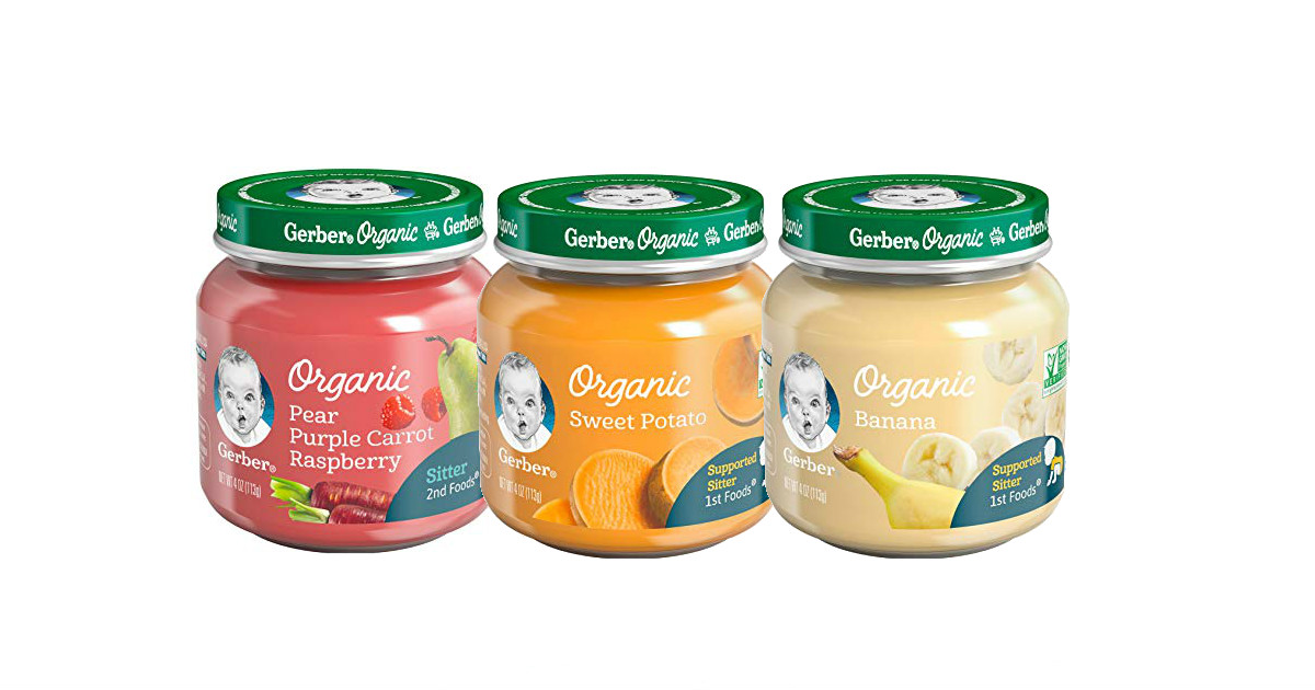 photo regarding Gerber Printable Coupons identify Gerber Organic and natural Youngster Food stuff Merely $0.79 at Emphasis - Printable