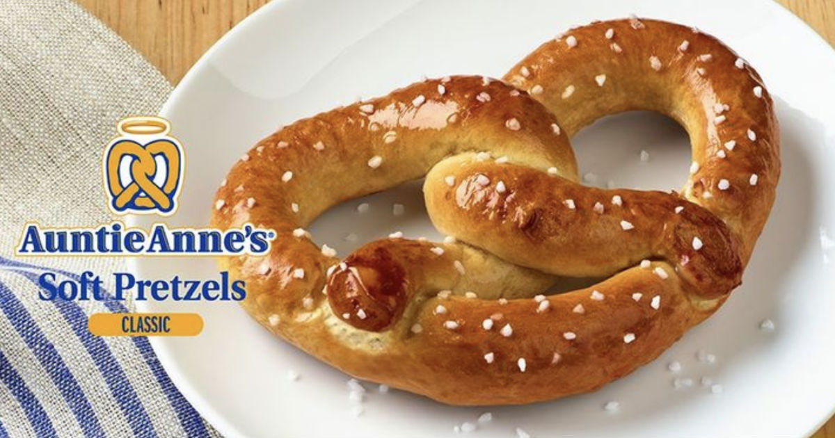 Auntie Anne's Buy One Get One Coupon
