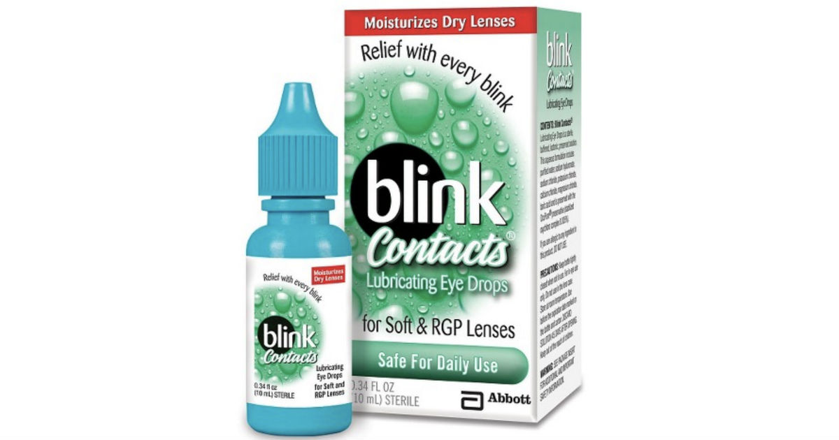 Blink Contacts Lubricating Eye Drops at Walgreen