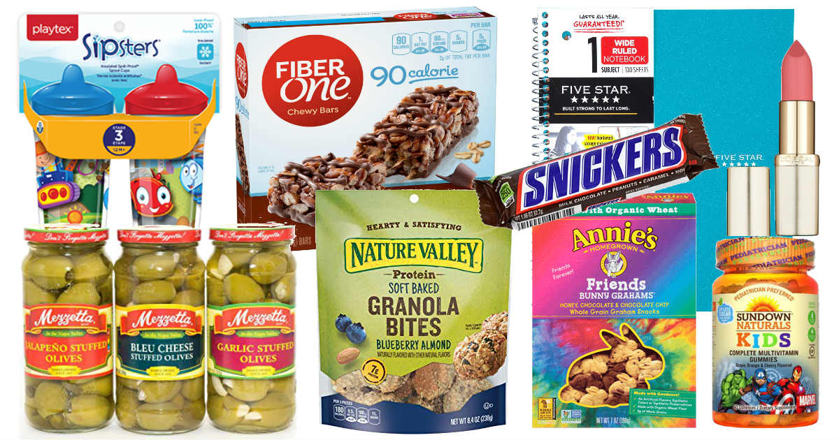 New Printable Coupons in August