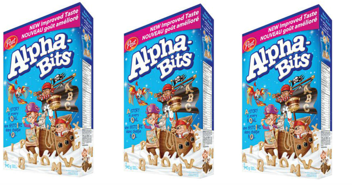 Alpha Bits Cereal at Walmart ONLY $3.25 at Walmart