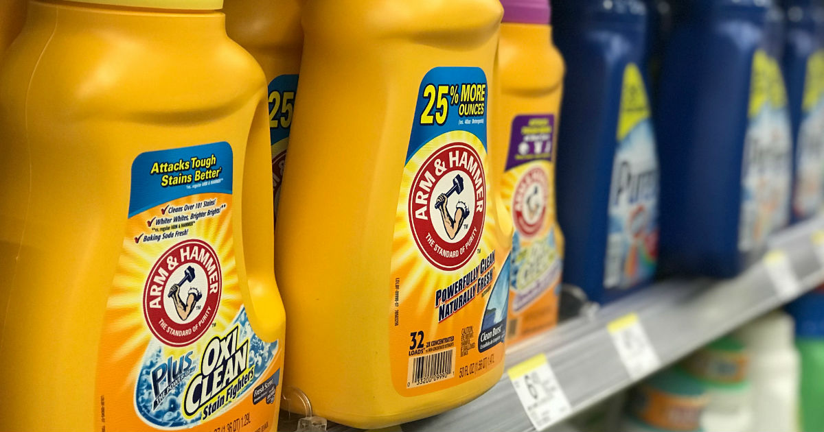 Arm & Hammer Detergent ONLY $0.99 at Walgreens