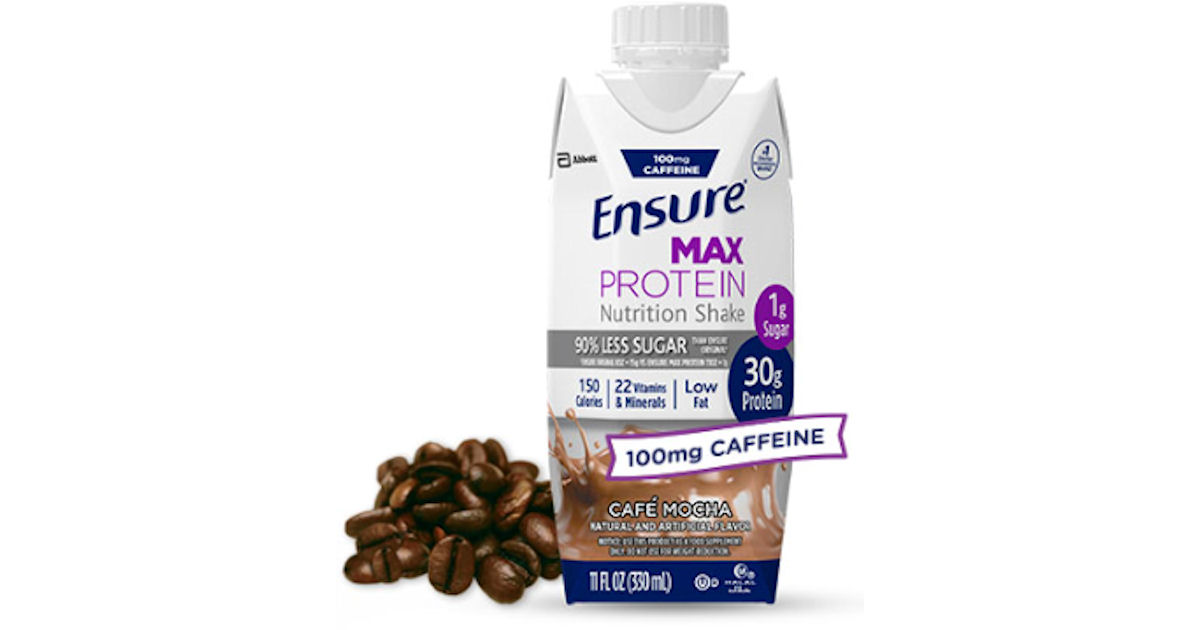 free ensure max protein nutrition shake for kroger & affiliates
