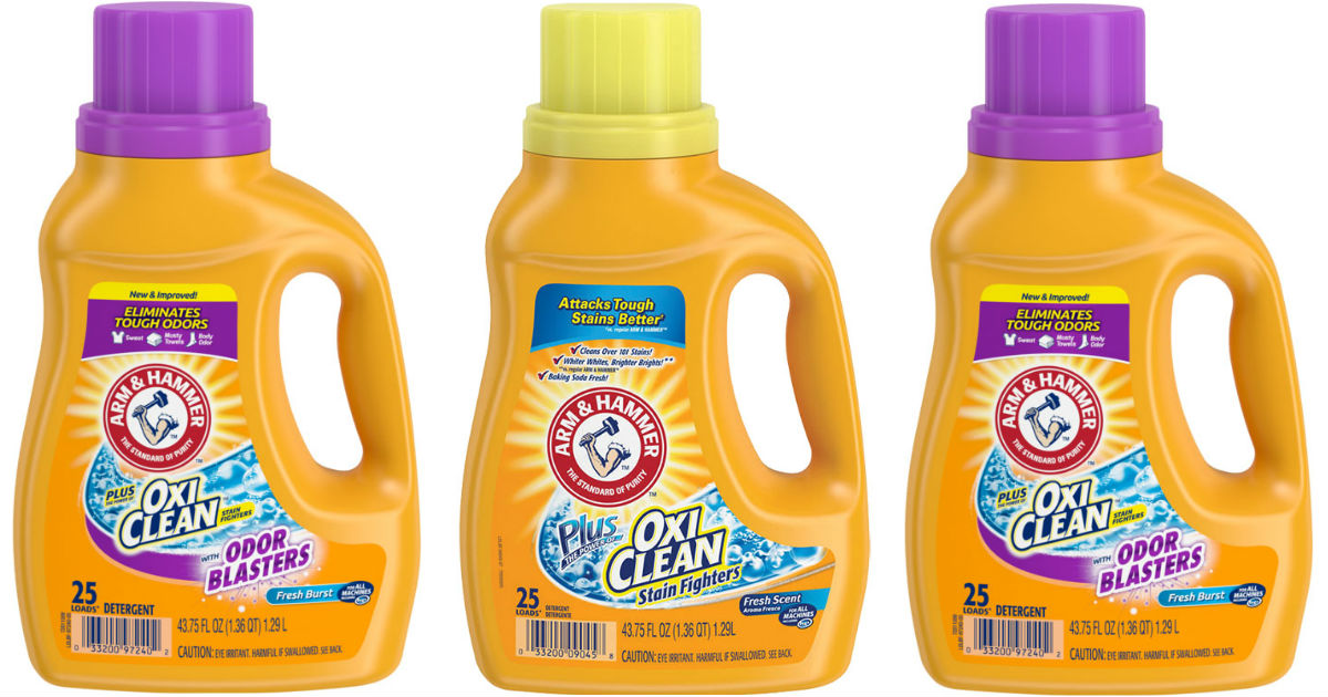 Arm & Hammer Detergent ONLY $1.99 at CVS