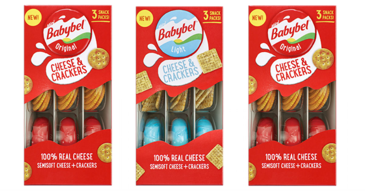 Babybel Cheese & Crackers ONLY $0.59 at Target