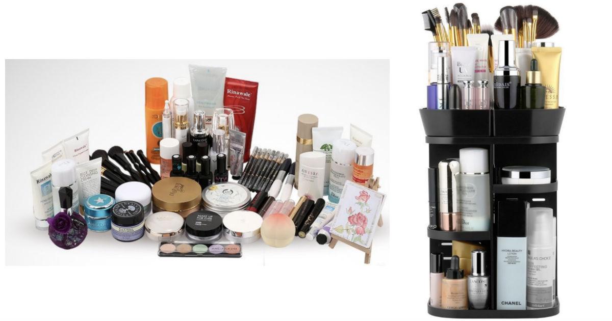 Amazon: Jerrybox Rotating Makeup Organizer ONLY $9.99 reg ($23)