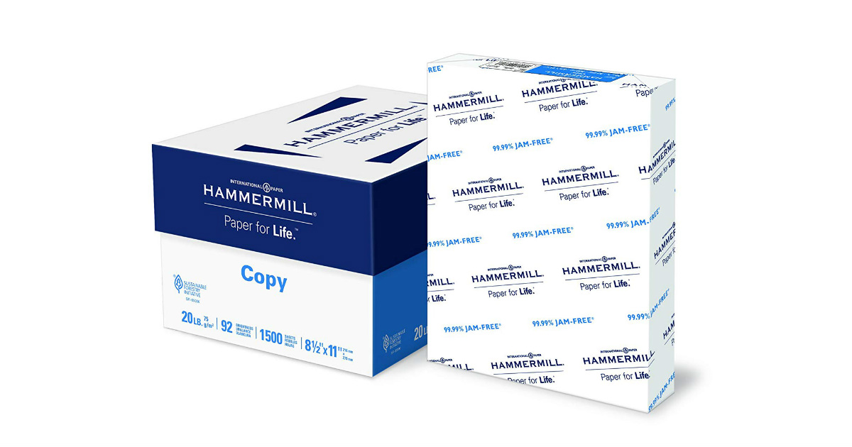 Hammermill Copy Paper deal at Amazon