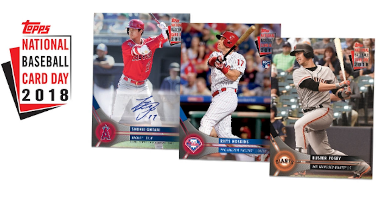 Free Pack Of Baseball Cards On National Baseball Card Day
