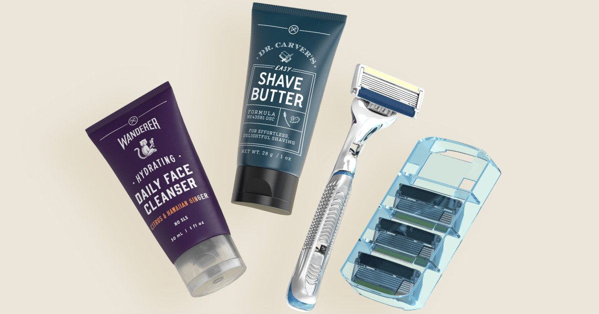 $5 + Free Shipping Razor Set Dollar Shave Club