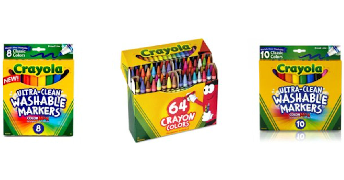 Free 10 Worth Of Crayola Products After Cashback