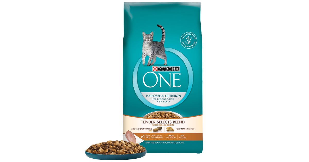 image relating to Purina One Printable Coupon referred to as Purina A person Cat Food stuff Coupon for $3 Off - Printable Discount codes