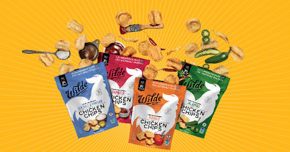 FREE Bag of WILDE Chicken Chip...