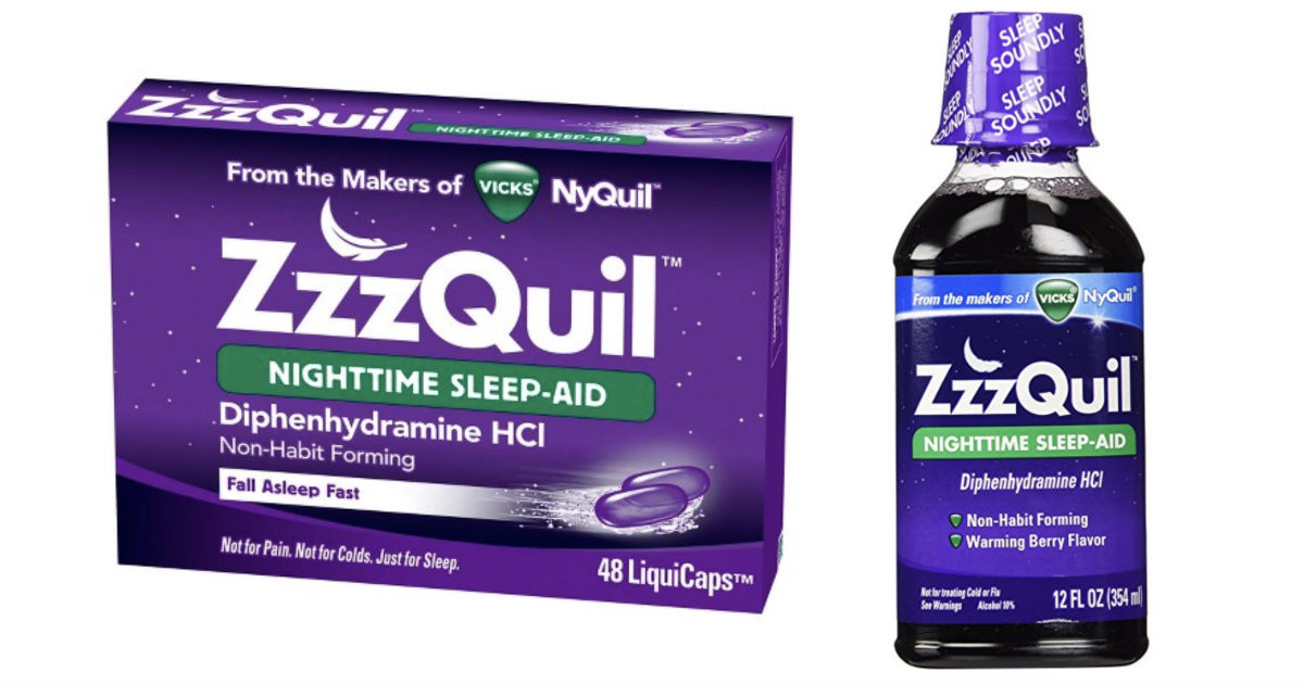 NEW Coupon for $1.00 Off ZzzQuil